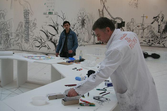 Павел Альтхамер. Конгресс рисовальщиков © Диана Мачулина