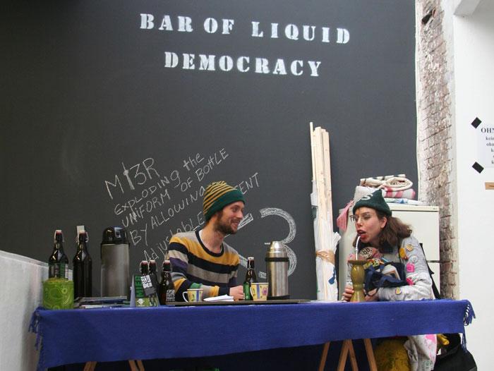 Экспозиция проекта движения Occupy © Диана Мачулина