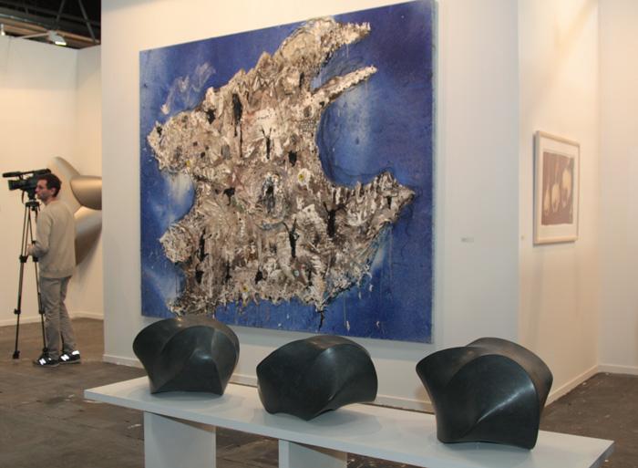 Стенд галереи Elvira Gansalez (Мадрид) © Валерий Леденёв