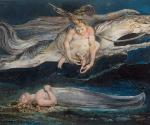 Уильям Блейк (1757–1827). Жалость. Около 1795. Бумага, монотипия, акварель, тушь, перо. 42,5 x 53,9. Галерея Тейт Бритен, Лондон