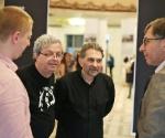 Александр Боровский, Гриша Брускин, Петр Авен © Виталий Кривцов