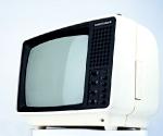 Приемник телевизионный черно-белого изображения «Юность-406 Д», Московский радиотехнический завод, выпускается с 1987 года СССР. Никогда раньше не выставлялся. Из коллекции Московского музея дизайна