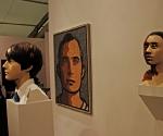 Работы Джулиана Опи на стенде галереи Lisson © Мария Крамар