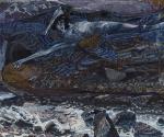 Врубель М. А. Демон поверженный. Эскиз-вариант одноименной картины. 1901