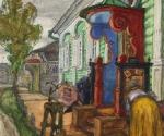 Добужинский М. В. Чернигов. Фотография. 1912