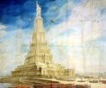 Проект здания Дворца Советов