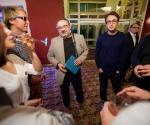 Марат Гельман (в центре), группировка ЗИП © Евгений Гурко