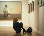 Вид экспозиции «Заложники пустоты» в Государственной Третьяковской галерее © Предоставлено премией Курехина