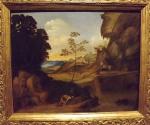 Джорджоне. Закат. 1506 -1510. Лондонская национальная галерея