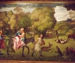В Венецианской Галерее Академии по сути состоялась премьера никем почти не виденной картины молодого Тициана   «Бегство в Египет» (из собрания Государственного Эрмитажа)