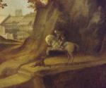 Джорджоне. Закат (фрагмент). 1506 -1510. Лондонская национальная галерея