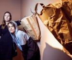 Художник Екатерина Лупанова и куратор Мария Калинина © Предоставлено пресс-службой «Винзавода»