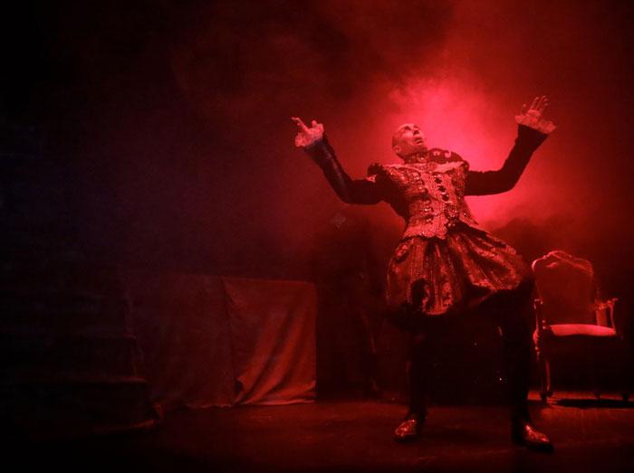 Сцена из спектакля «Полоний» © Предоставлено пресс-службой театра