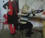 Нина Суздалева. Двойная женская постановка. 1966. Руководитель А.А. Мыльников