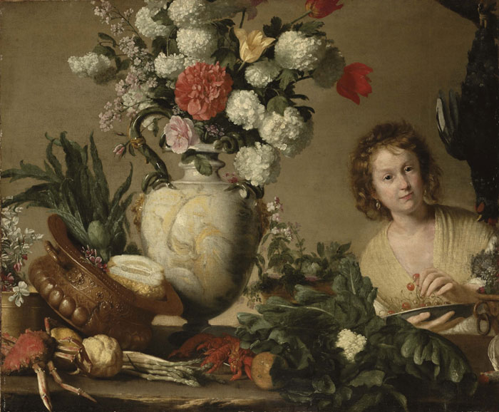 Галерея Maison d'Art. Бернардо Строцци. Садовница