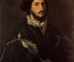 Тициан. Портрет Томмазо (или Винченцо) Мости. Флоренция, Галерея Палатина, Палаццо Питти