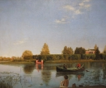Вновь открытый шедевр галереи – пейзаж Григория Сороки