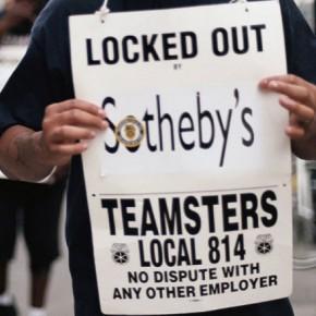 Sothbey's в Нью-Йорке продолжают пикетировать