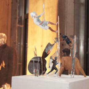 Алексей Трегубов. «Сбежавшие». Выставка «Бега». Фото: Валерий Леденёв