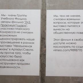 Выставка «Ненадежная жизнь». Фото: Валерий Леденёв