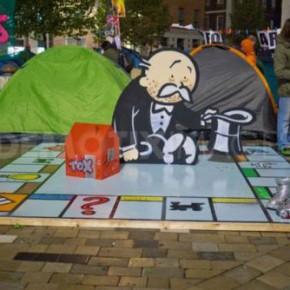 Бэнкси поддержал Occupy London?