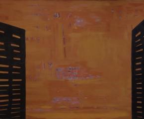 Вадим Овчинников. Окно. 1988 («Новые художники») © www.rusmuseum.ru