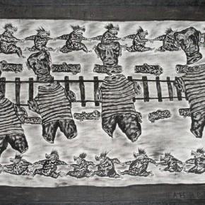Евгений Юфит. С моряками танцевать. 1989 («Новые художники») © www.rusmuseum.ru