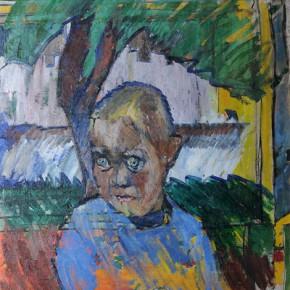 Владимир Татлин. Портрет мальчика. 1908–1909. Холст, масло. 76 х 61. РГАЛИ
