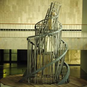 Владимир Татлин. Башня Интернационала. Дерево, металл. Государственная Третьяковская галерея
