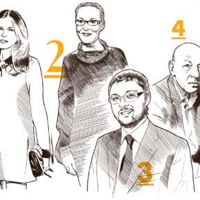 Топ-50 самых влиятельных лиц в российском искусстве по версии журнала «Артхроника»