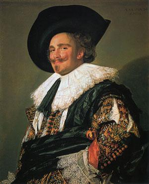 Франс Халс (1580/1585 – 1666). Смеющийся кавалер. 1624. Собрание Уоллеса, Лондон