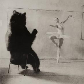 Г. Майофис. «Вкус к русскому балету», 2008. Бумага, бромойль. Предоставлено галереей pop/off/art, Москва–Берлин