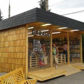 «Гараж» открыл книжный магазин