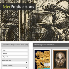 Метрополитен выложил каталоги в сеть