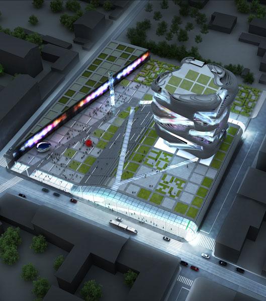 Проект Государственного федерального музея современного искусства на базе ГЦСИ