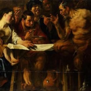 Картину Якоба Йорданса из собрания ГМИИ отреставрировали