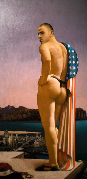 Ольга Тобрелутс. Американский солдат в Ираке. 2003