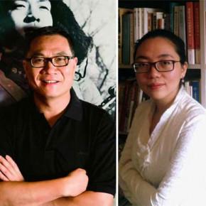 Гендиректор Modern Media Group Томас Шао и будущий редактор The Art Newspaper China Е Ин © The Art Newspaper