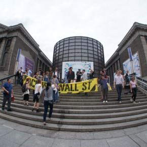 Движение «Оккупай»: «Левая направленность официальных художественных институтов – это фейк»