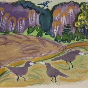 Картины Татьяны Мавриной в Петровском Пассаже