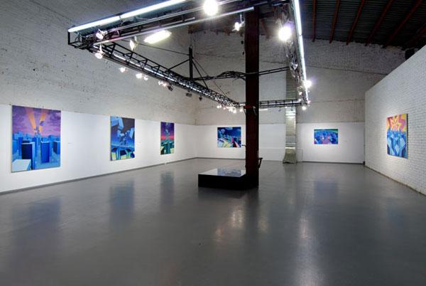 Вид экспозиции выставки Стаса Шурипы с Айдан-галерее © Фото с сайта Айдан-галереи